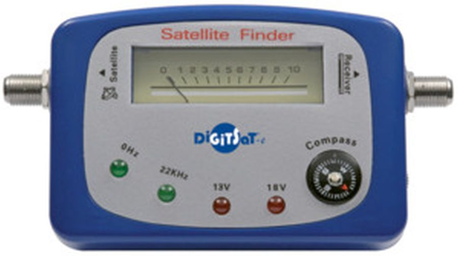 SAT FINDER CON BUSSOLA DIGITSAT