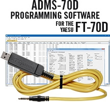 ADMS-FT70 USB software completo di cavo