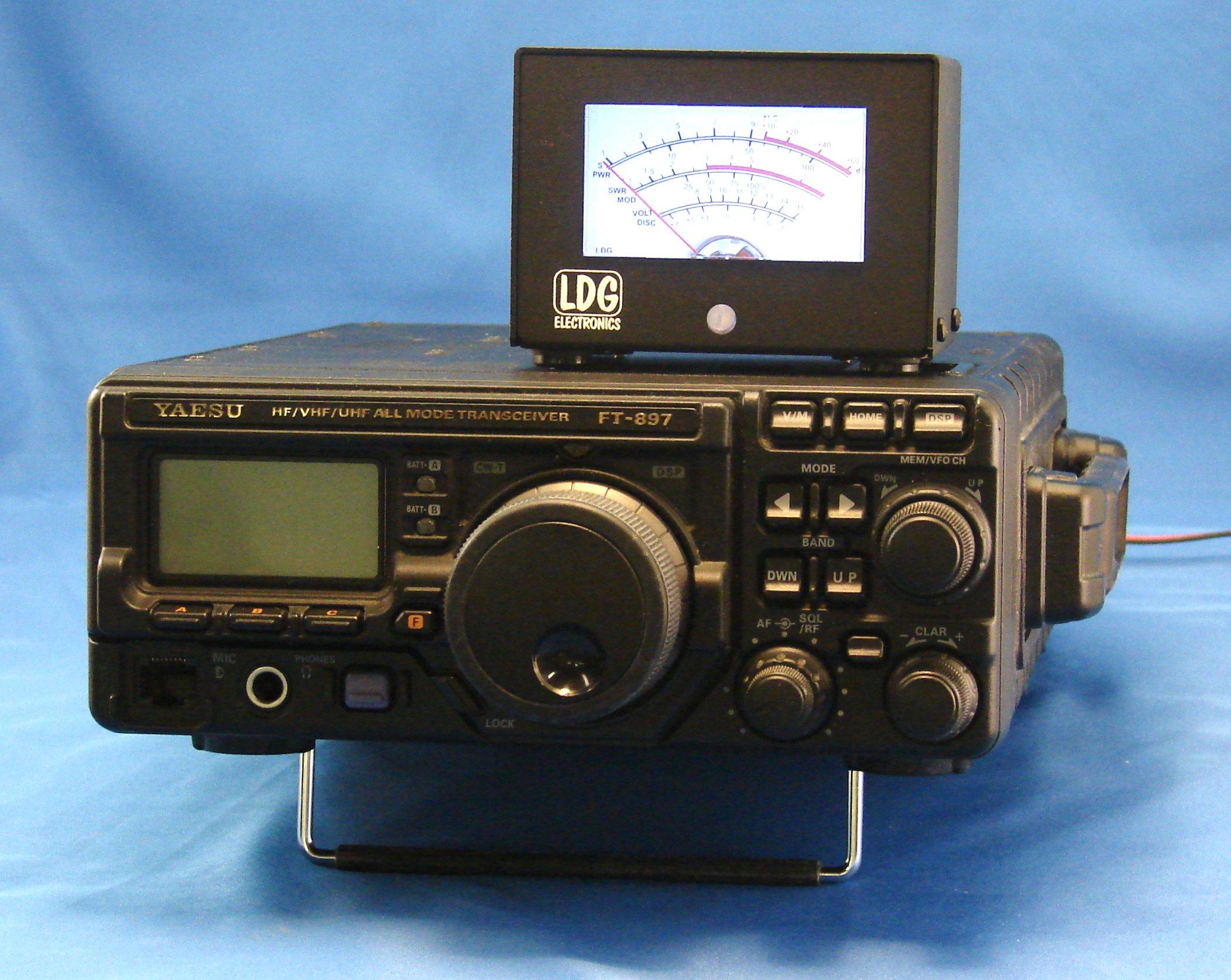 Ft Meter 6 Funzioni Meter Per Rtx Yaesu Ft857 Ft897 Ft