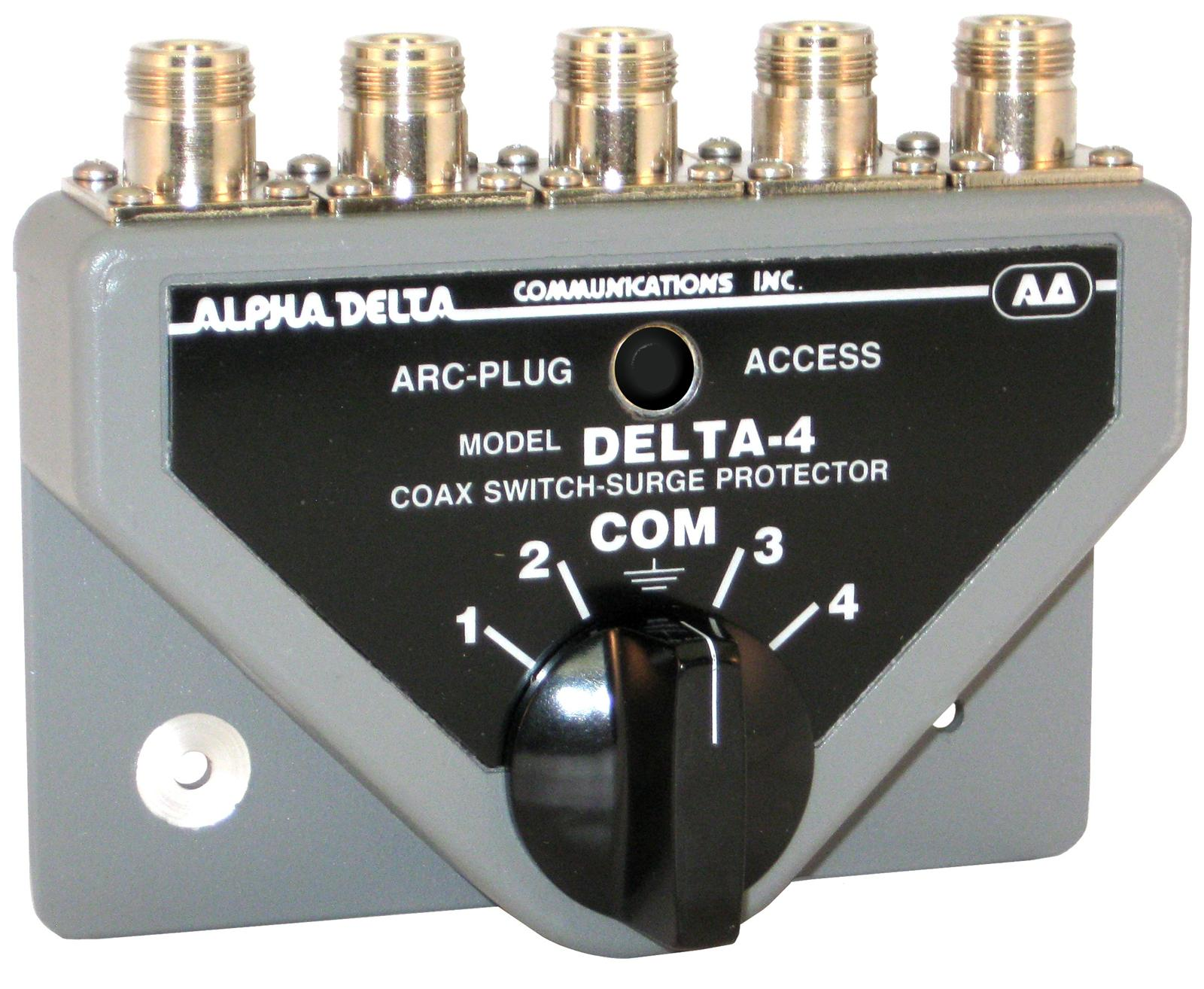 Alpha Delta Coax Switches DELTA-4B/N