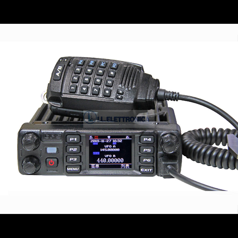 ANYTONE AT-D578UV PLUS RTX VHF/UHF DMR/ANAL GPS/APRS +BLUETOOTH