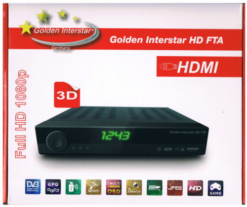 Golden Interstar Digital HD Fta