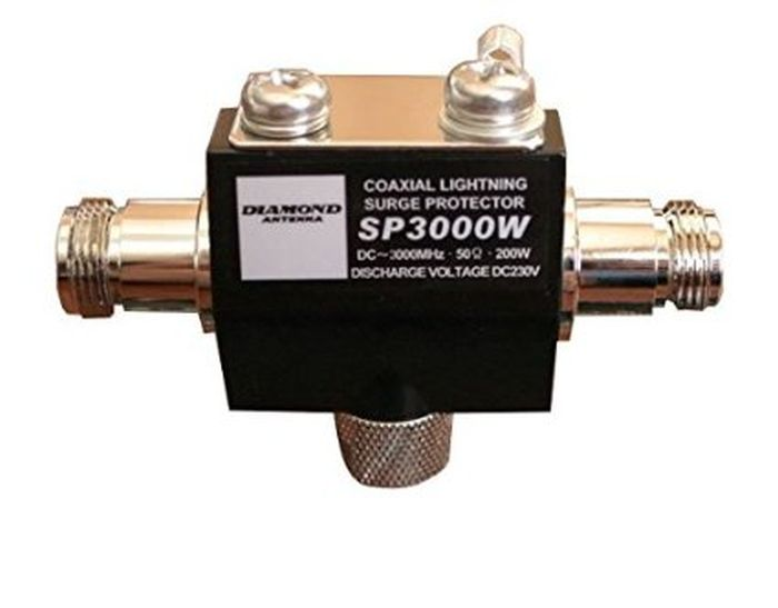 Diamond SP-3000W Scaricatore d'antenna DC-3 GHz