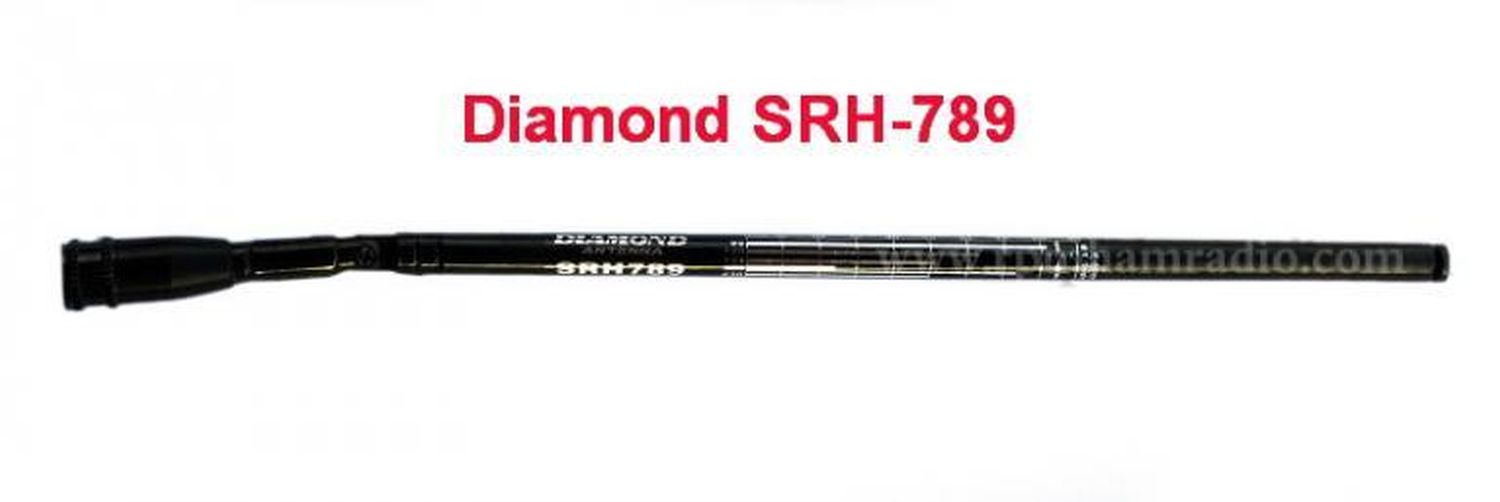 Antenna telescopica snodabile Diamond SRH-789 -95MHz to 1100MHz