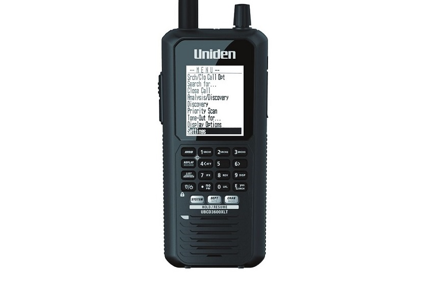 Scanner portatile Uniden UBCD-3600XLT+ ARC-536 BASIC SOFTWARE
